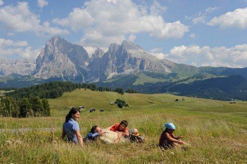 Sull'Alpe di Siusi